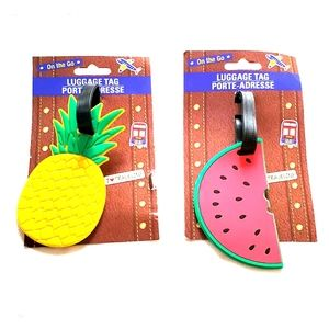 🧳 Luggage Tags 🍉🍍